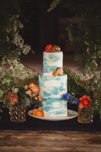 tarta- tonos-azules